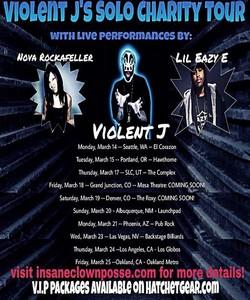 The Riddle Box Shows Violent J S Solo Charity Tour